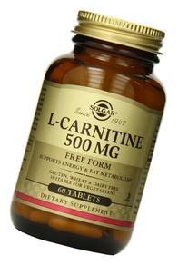 L Carnitine 500 Mg - 60 Tablets