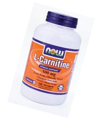 NOW Foods by Now L-Carnitine Fitness Support 500 mg-180