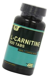 Optimum Nutrition L-Carnitine 500mg, 60 Tablets