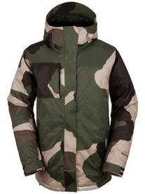 Volcom L Insulated Gore-Tex Jacket - Men's Camouflage, S