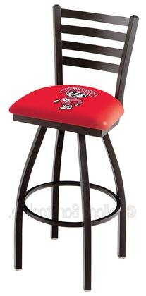 Holland Bar Stool L01425WI-Bdg 25 in. Black Wrinkle