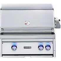 Lynx L27R-2-NG Built-In Natural Gas Grill with Rotisserie,