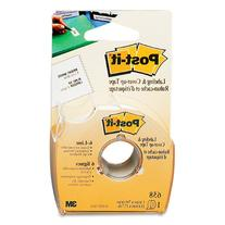"""Post-it 658 Labeling & Cover-Up Tape, Non-Refillable, 1"""" x"""