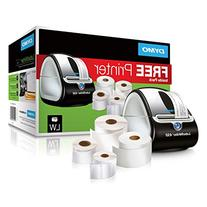 DYMO LabelWriter 450 Super Bundle - FREE Label Printer with