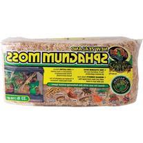 Zoo Med Laboratories SZMCF25 New Zealand Sphagnum Moss, .33-