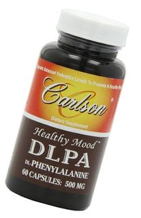 Carlson Labs Dl-Phenylalanine DLPA, 500mg, 60 Capsules
