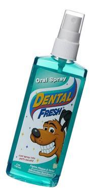 Synergy Labs DSL00001 Dental Fresh Dog Oral Spray, 4-Ounce