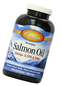 Carlson Laboratories Norwegian Salmon Oil 500 mg 300