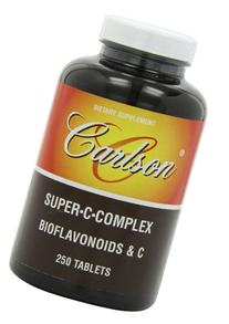 Carlson Labs Super C Complex, Bioflavonoids and C, 250
