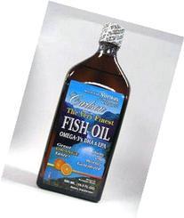 Carlson Labs Very Finest Liquid Fish Oil - Orange - 500ml -