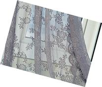 Better&Better Lace Romatic Floral Curtains for Living Room