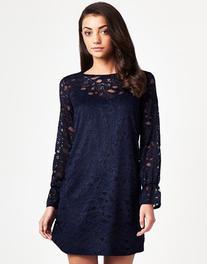 Lipsy Lace Smock Dress