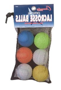 Champion Sports Lacrosse Ball Set, 6 Balls