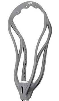 STX Lacrosse Super Power Plus Unstrung Lacrosse Head, Grey