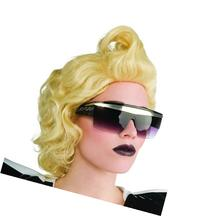 Lady Gaga Glasses,Black,One Size