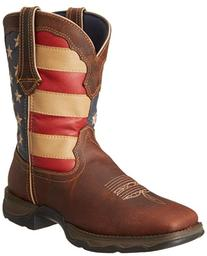 Durango Women's Lady Rebel RD4414 Western Boot,Brown/Union