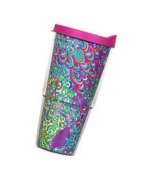 Lilly Pulitzer Lilly's Lagoon Insulated Tumbler with Lid,
