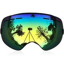 Zionor Zionor Snowmobile Snowboard Skate Ski Goggles with