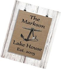 Lake House Sign - Personalized Camp Sign