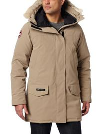 Canada Goose Men's Langford Parka,Tan,Medium