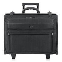 "Solo 17.3"" Laptop Rolling Catalog Case, Hanging File System"