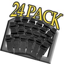 24 Pack Lashing Straps Sleeping Bags Camping Hiking Survival