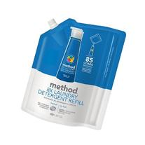 method Laundry Detergent Refill, 85 Loads, Fresh Air 34 fl