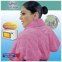 Lavendar Micro Collar Neck & Shoulder Wrap Hot/Cold Therapy