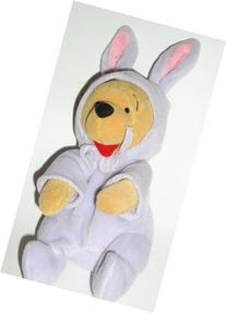 Disney Lavender Easter Bunny Pooh Mini Bean Bag
