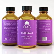 aVo Essentials Lavender Essential Oil, Therapeutic Grade for