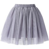 Chicwish Lavender Tulle Mini Skirt