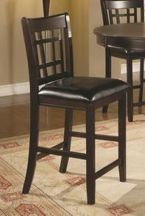 Lavon 24 Inch Bar Stools in Cappuccino Finish  by Coaster