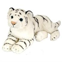 Laying White Tiger Cuddlekin 12 by Wild Republic