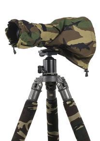 LensCoat LCRSMFG RainCoat RS for Camera and Lens, Medium