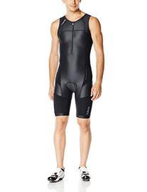 2XU Men's LD Core Support Tri Suit, Black, Small