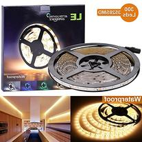 LE 16.4ft Waterproof Flexible LED Light Strip, 300 Units SMD