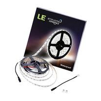 LE 16.4ft 300 Units SMD 5050 LED Flexible Light Strip, 6000K