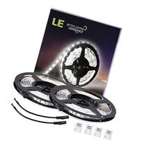 LE 2 Pack 16.4ft LED Light Strip, 300 Units SMD 2835 LED,