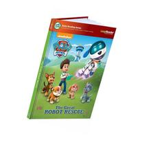 LeapFrog LeapReader Book: PAW Patrol: The Great Robot Rescue