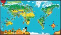 LeapFrog LeapReader Interactive World Map