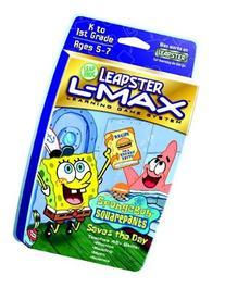 Leapster L-MAX SW Game: Sponge Bob