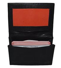 New Leather Bi-fold Credit Card Holder Brown