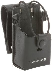 Motorola Leather Case with 3-Inch Swivel for RDX Radios