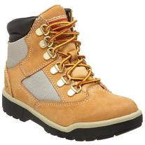 Timberland 6-Inch Leather and Fabric Field Boot ,Wheat