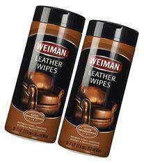 Weiman Leather Wipes - 30 ct - 2 pk