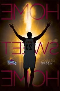 Cleveland Cavaliers - Lebron James 14 Poster 22 x 34in