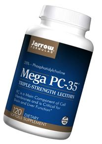 Lecithin Mega PC-35 120 Softgels
