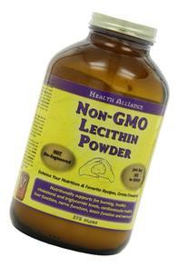 Healthforce Lecithin Powder, Non-Gmo, 375-Grams
