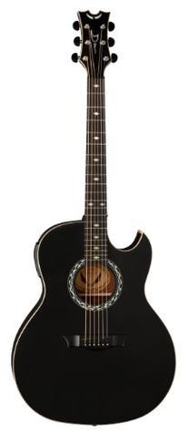 Dean EX BKS L Lefty Acoustics Acoustic-Electric Guitar, Left