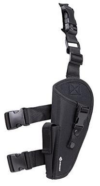 Crosman Leg Holster, Camo, Mag Pouch, Med/Lg-Frame Guns